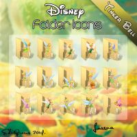 Disney Folder Icons - Tinker Bell by EditQeens