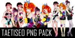 TAETISEO TWINKLE PNG PACK by classicluv