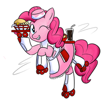 1 of 100 Ponies - Pinkie Pie 50s Style by ZaneZandell