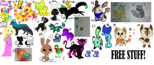 Free Unused Adopts (NOW LESS CONFUSING) by TheCuddler
