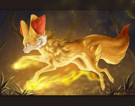 Flame of the Night by WraithWolves