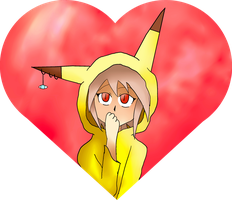 A adorable Lady in a heart by MultiMouths
