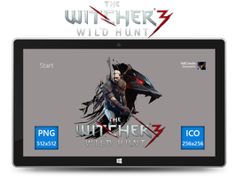 The Witcher 3 Wild Hunt Icon by Ni8crawler