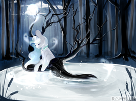 Pond Month Prompt 1 | Yurei's Pond by Ramyuun