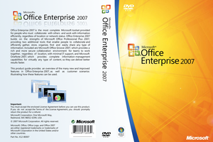 Office Enterprise 2007 Cover by zawir