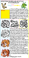 Pokemon Red and Blue Sprite Style Tutorial by IceyPinkLemons