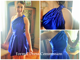 Formal Dress Commission by ElliotCosplay
