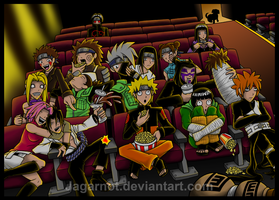 Updated Shippuuden at the Cinema by Jagarnot