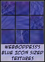 Blue Icon Sized Textures by webgoddess
