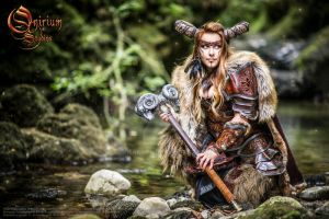 Photoshoot 2015 : Celtic battle faun by Deakath