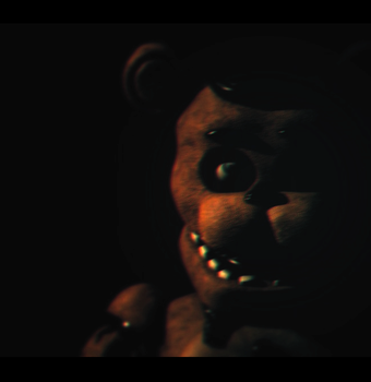 Withered Freddy poster [Blender FNaF] by TRAWERT