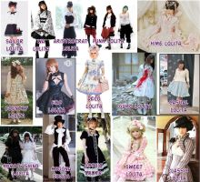 Lolita Collage by moonymonster