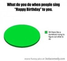 When people sing happy birthday to you by cosenza987