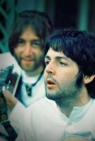 Paul and John in India by elooly
