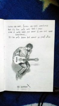 sketchbook - Ed sheeran by Tsenov
