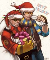 HAPPY HOLIDAYS by togaco