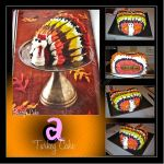 Turkey Cake by Tizette-Creations
