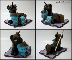 OC Pony Incense holder  Hearts N Hooves Day by MadPonyScientist