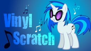 Vinyl Scratch Added Name WP by Hufflepuff-Disney