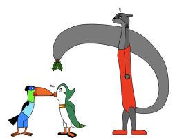 How Birds Avoid Mistletoe by platypus12