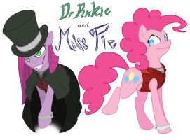 Dr Pinkie and Miss Pie by Assassin-or-Shadow