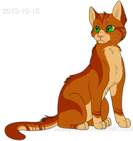 New Firepaw design by SassyHeart