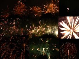 Fireworks collage by gvbbo