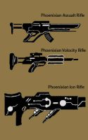 weapon prelimnary concepts by Wolvanart