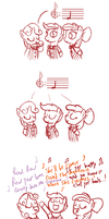 CMC Barbershop Trio, Yay! by Art-Anon
