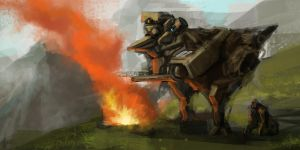 Rise of the Planet of the Apes 3 10262013 by WarrGon