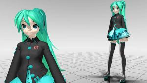 Early Alternative Miku MMD download by Reon046