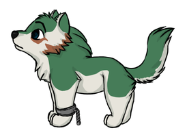 Wolf Toon Link by DivineNymph