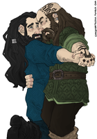 the Hobbit : the dance by LadyNorthstar