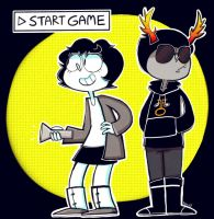 Homestuck Game by Caramelkeks