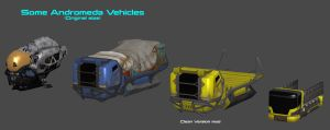 Andromeda Other Vehicles by nach77