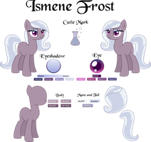 Ismene Frost Reference Sheet by TheShadowStone
