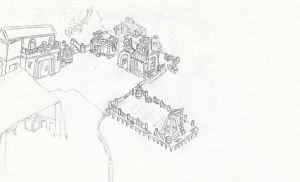 Dragon's Nest port -uncolored- by Merganthepirate