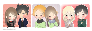 Cheebs couples by Minamow