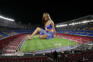 Barcelona's new mascot by Accasbel