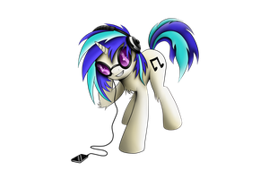 Vinyl Scratch by Pajaga