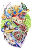 Tattoo Design I by SketchbookFlavor