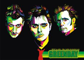 GREEN DAY new version WPAP by p32n