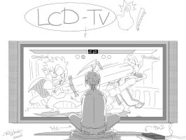 LCD-TV by babtong