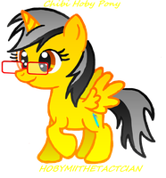 CHIBI HOBY PONY by HOBYMIITHETACTICIAN