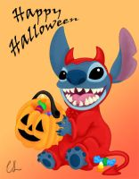 Happy Halloween - Stitch by lambini