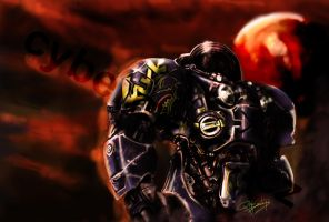 Another Starcraft marine by VitoSs