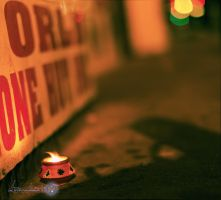 Diwali in New York from a corner. by AzankinoKING