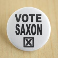 Vote Saxon by MonstersPins
