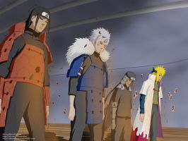Naruto 618 - The Hokages by AlexPetrow