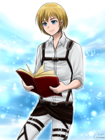 Armin Doodle by Vhenyfire